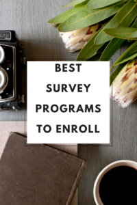 Find out how you may get paid for filling surveys with my top five survey programs.