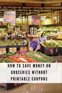 How to Save Money on Groceries without Printable Coupons.