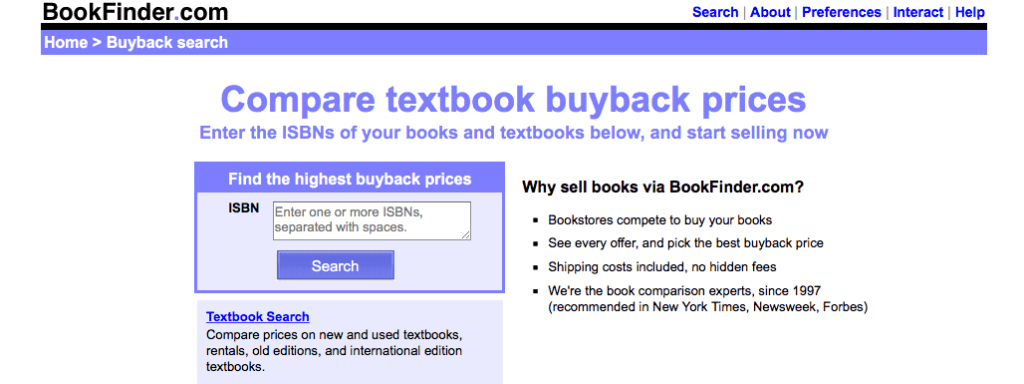 how to sell used books online for cash