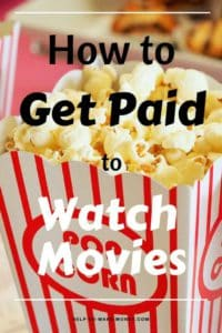 Would you like to watch movies at the movies for free and also be paid for it? It sounds great, right? Check out this post to learn how to get paid to watch movies at the movies. Why not making extra money while you are having fun. Visit the movies with friends and make some cash at the same time.