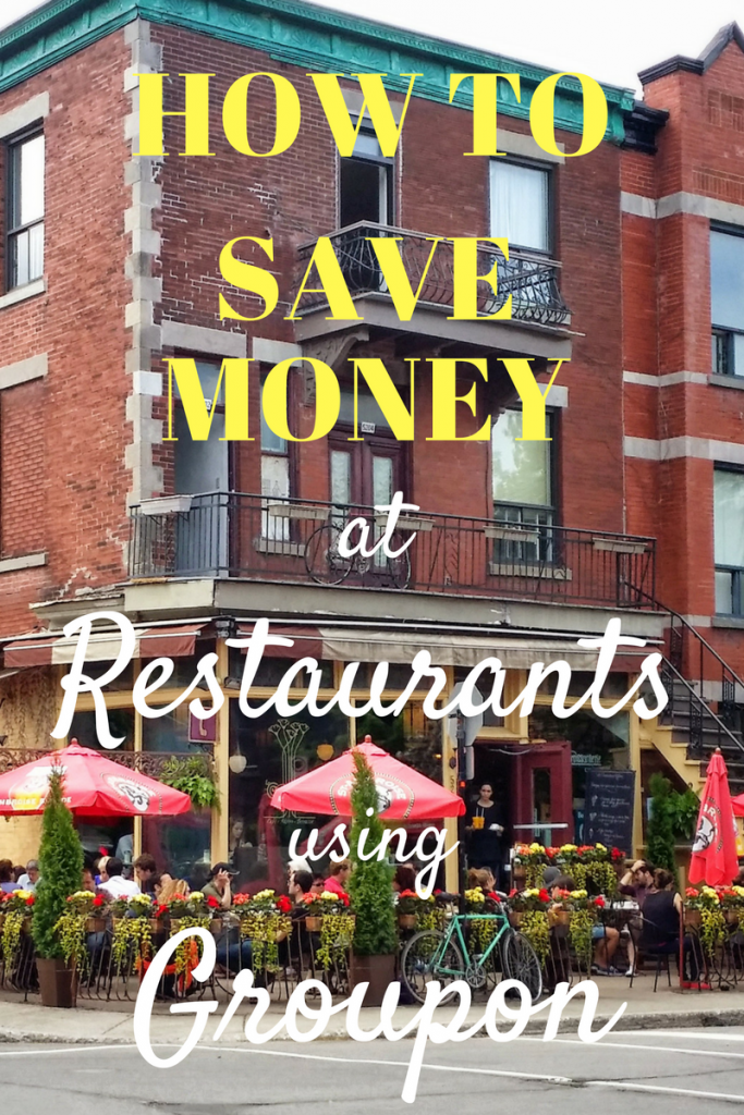 How to Save Money with Groupon eating at restaurants. Click through to know what Groupon is and how you can use it to save money on your restaurants bills.