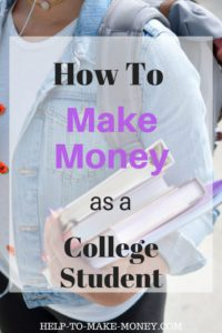 Five excellent Ways to Make Extra Money as a College Student. Discover in this post how you can earn money on your spare time with mystery shopper jobs, watching movies, sharing your opinion and more. Click here to learn more.