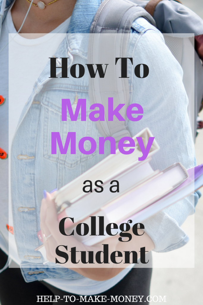 Ways to Make Extra Money as a College Student