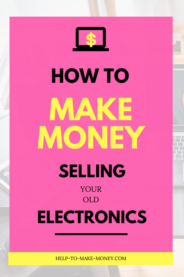 How to Sell Electronics Online for Cash. If you are looking for ideas to make extra money you might want to read this post. Click through to learn how to Make cash fast online with your old electronics.