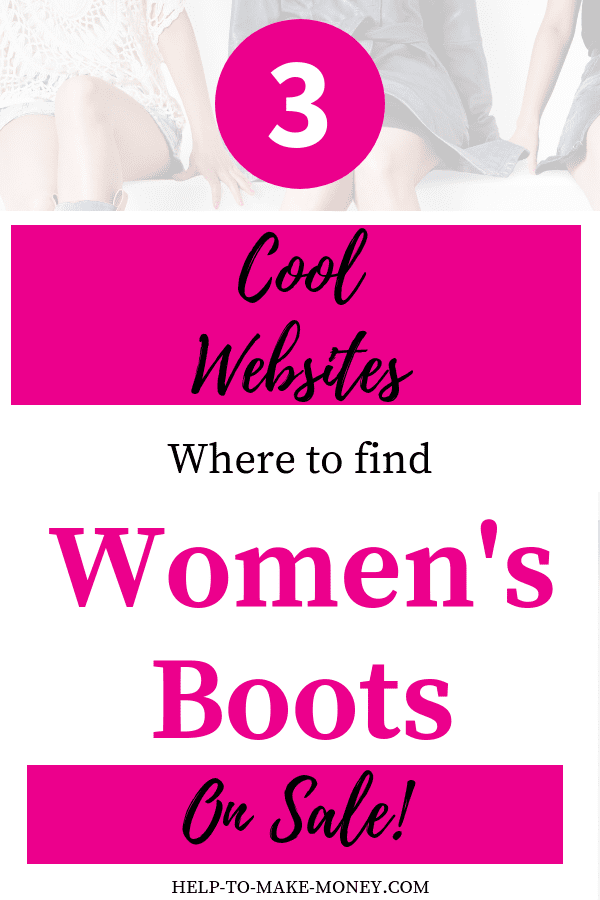 Looking for a New pair of Women's Boots for the Fall? Well, Let me help you with this my friend. Find in this post 3 of my favorite places to get great discounts on women's shoes and right now on most of the boots since the season is already here! Check all 3 sites and compare prices they always have flash sales with huge discounts. Click Now!