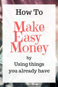 How to Make Easy Money is a post where you will learn how to make extra money by selling your old items online. You can earn money online fast if you know where to do it. Click here to learn more!