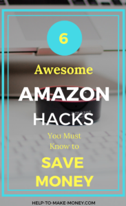 Save a lot of money using these easy Amazon hacks. Saving money Amazon for amazon lover that won't want to miss!