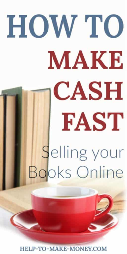 Make Money From Home today selling online your unwanted books!